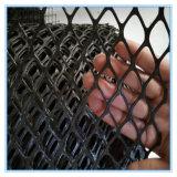 黒いプラスチック溝のGuareの網のタイプ