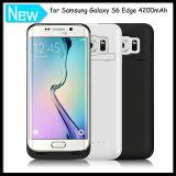 La Banca Battery Caso di Power del telefono per Samsung Galaxy S6 Edge