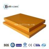 Alta calidad PVDF/PE que cubre el panel compuesto de aluminio antiestático