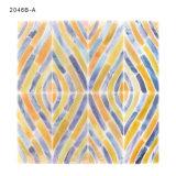 Azulejo colorido de la frontera del mosaico del vidrio manchado del apartamento del mosaico para las paredes