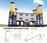 Concrete Batching Plant (Concrete Mixing Station Type HZS120)