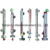 Zweifarbige magnetische Herbewegungs-Stufenbezeichnung - waagerecht ausgerichtetes Abmessen-Wasser Stufen-Messinstrument