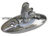 海洋のハードウェアの倍のヨットのデッキのボートの十字のボラード(無くなったワックスの鋳造)