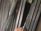 주름을 잡은 창 수비대 방호벽은 관 Aluminimum 담 위원회를 깐다