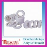 Doppio nastro laterale adesivo del tessuto