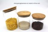 Moderne Modieuze Heet verkoopt de Kruik van de Opslag van het Voedsel met het Deksel van het Glas