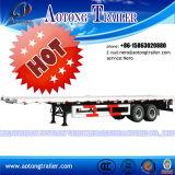 Concurrerende 40ft 3 Aanhangwagen van de Vrachtwagen van de Container van de As 45ton de Semi