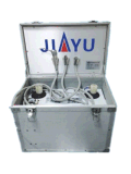 Unità dentali portatili di aspirazione in grande quantità con il trattamento indicatore luminoso e del misuratore