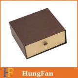 Caixa de gaveta deslizante de alta qualidade e cinto com logotipo