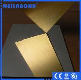 El panel nano compuesto de aluminio revestido de Acm de la hoja de PVDF ACP