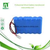 paquete de la batería de litio 18650 8.4V para el monitor médico con el cargador