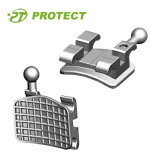 Corchetes ortodónticos de Orthon del metal del fabricante