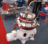 Separador de centrifugação de disco trifásico de descarga automática para vários óleos