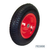Caricamento 160kg Wheelbarrow Wheel Rubber Tire (16 '' *4.00-8)