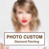 Foto-kundenspezifischer Diamant-Farbanstrich, Querheftung, DIY Diamant-Stickerei, Diamant-Mosaik, privater Zoll, Fertigkeit-Farbanstrich
