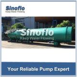 pompes de asséchage d'eaux d'égout submersibles hypersustentatrices élevées de flux pour le mien