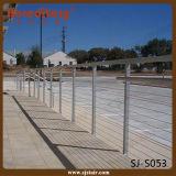 ステンレス鋼ケーブルの柵デザイン外部の柵(SJ-S053)