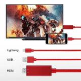 2017 de Nieuwe Bliksem van het Ontwerp aan Kabel HDMI voor iPhone