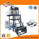 HDPE&LDPE Machine van de Film van de Spoel van het polyethyleen de Dubbele