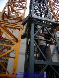 Guindaste de torre de escalada interno