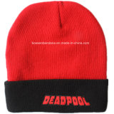 Beanie lavorato a maglia acrilico del cappello di Promotioanl ricamato marchio su ordinazione dei prodotti dell'OEM della fabbrica