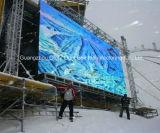 P16 imperméabilisent le visuel à grand écran