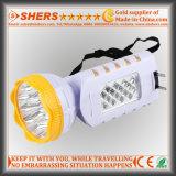 Nachladbare 9 LED-Fackel mit 12 LED-Schreibtisch-Lampe (SH-1955)