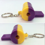 Promotation Kids Toy Colorful Plastic Whistle с Key Ring (10224290)