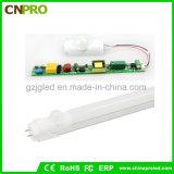 Commercio all'ingrosso lungo della lampada del tubo del sensore di illuminazione del tubo di durata della vita 1.5m LED