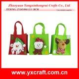 Bolso de totalizador de la Navidad de la decoración de la Navidad (ZY14Y137-1-2-3)