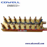 Chauffage Modularized Brass Fordged Water Manifolds