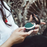 batería linda de la potencia del espejo del maquillaje de la dimensión de una variable redonda 4000mAh