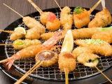 オイルのポテトの焼串を揚げなさい