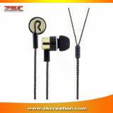 1.1mの耳3.5mmのイヤホーンを隔離する新しいステレオ音楽ヘッドホーンの騒音