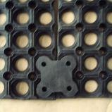 排水のAnti-Fatigueゴム製マットおよび抗菌の床のマット