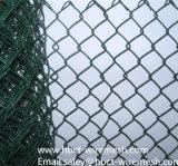 Ячеистая сеть звена цепи для провода загородки теннисного корта (изготовление)