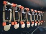 Planche à roulettes électrique amplifiée portative légère