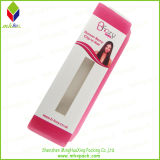 Popular PVC papel de impresión Embalaje Caja de pelo