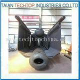 8 de Hoogste Industriële Met kolen gestookte Stoomketel van de ton