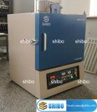 Horno de mufla eléctrico 1700 del compartimiento del laboratorio
