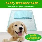 使い捨て可能なキルトにされた余分吸収性ペット子犬のトレーニングの小便のパッド(TP24)