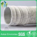 Sachets filtre utilisés de la poussière de polyester de four à ciment