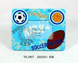 Blocco per grafici di legno della foto del magnete di gioco del calcio standard caldo En71