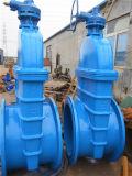 Tipo deAumentação válvula da haste do ferro de molde de BS5163 Pn16 Ggg50 de porta