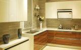 Gabinetes de cozinha UV do lustro elevado do MDF (ZX-005)
