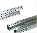 Qualité galvanisée par poteau carré de barrière de tube