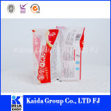 Plastikverpacken- der Lebensmittelnylontiefkühlkost-Griff-Stützblech-Beutel