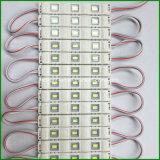 5730 SMD는 표시를 위한 사출 성형 3 칩 LED 모듈을 방수 처리한다