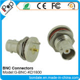 Conetor coaxial dos conetores de BNC Kd1800 para o conetor de BNC