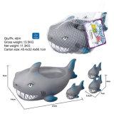 Animal en plastique de jouet de salle de bains de douche d'été de gosses de porc de sifflement